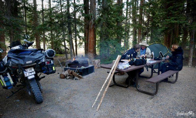 Camping Grand Teton