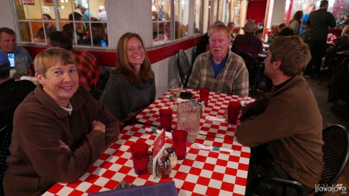 Dinner in Moab