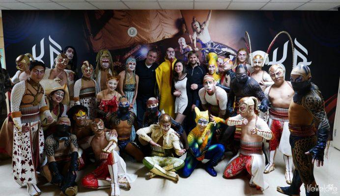 Circus de Soleil trupe - Ka show