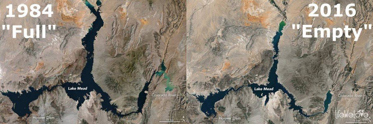 Lake Mead by NASA