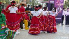 Meksykańskie tancerki Las Vegas
