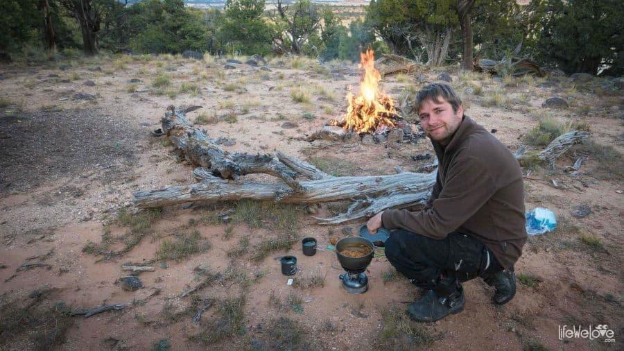 Utah wild camping