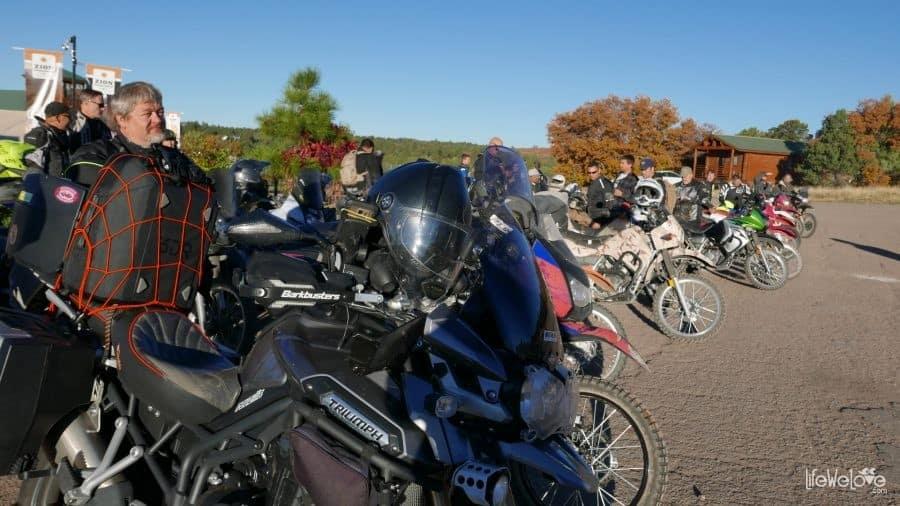 Dual sport bikes in Utah, USA