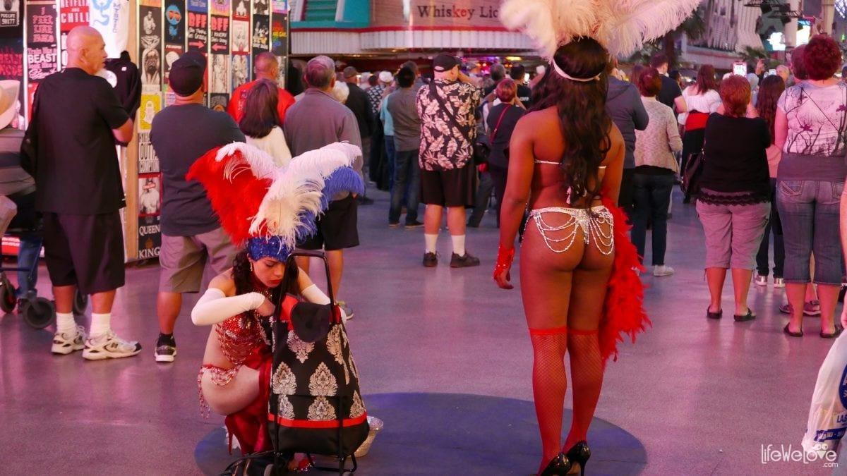 Las Vegas dancers