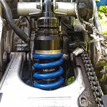 Choosing the right suspension for a motorcycle expedition