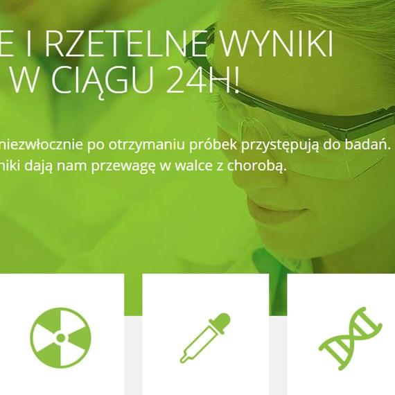 Agro-Vet laboratory website