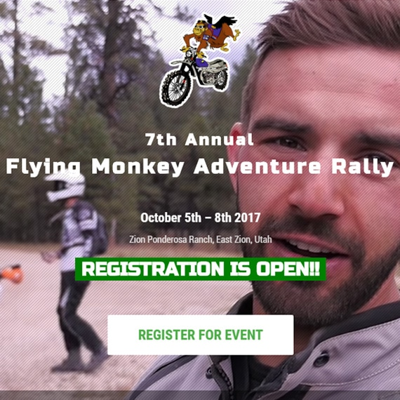 Flying Monkey Adventure Rally website
