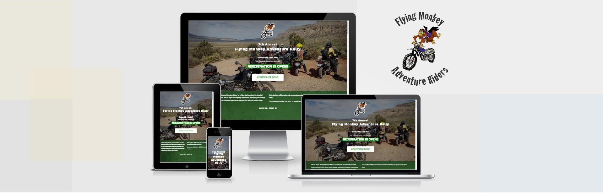 Flying Monkey Rally website
