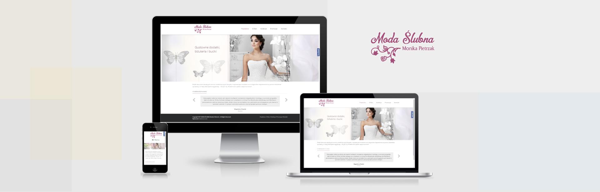 Moda Ślubna website