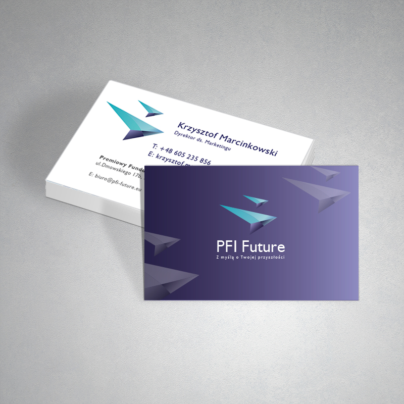 PFI Future business cards