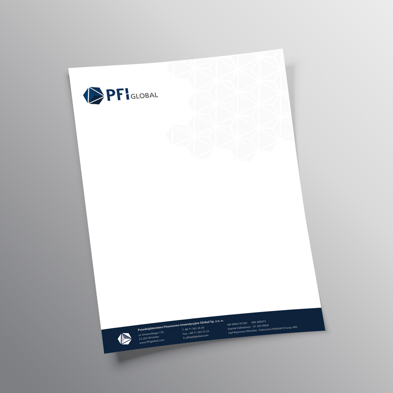 PFI Global Letterhead