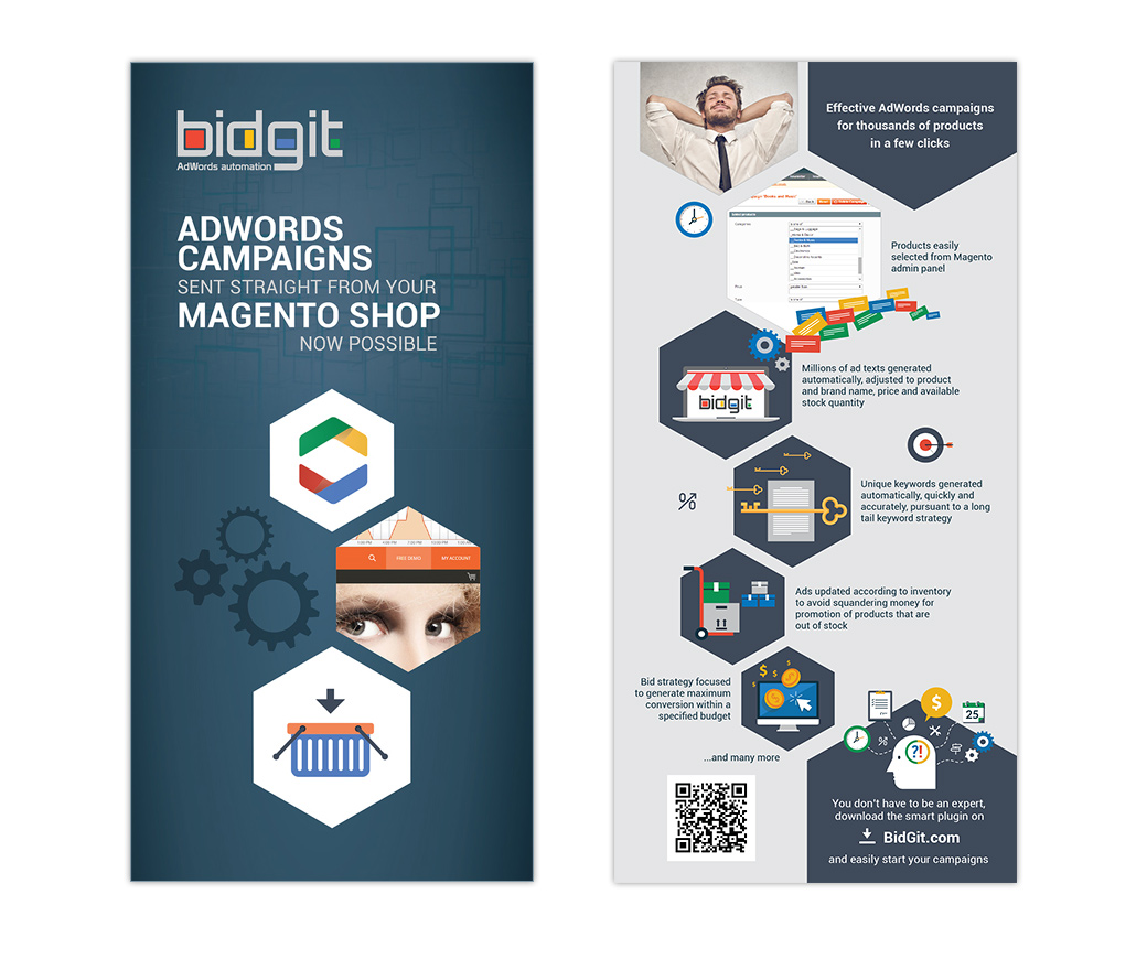 BidGit Leaflet Design