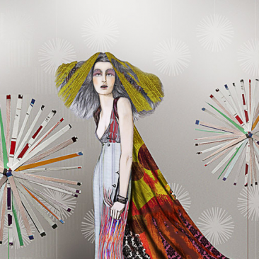 Fashion Illustration Livia
