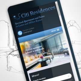 Properties search online on mobile