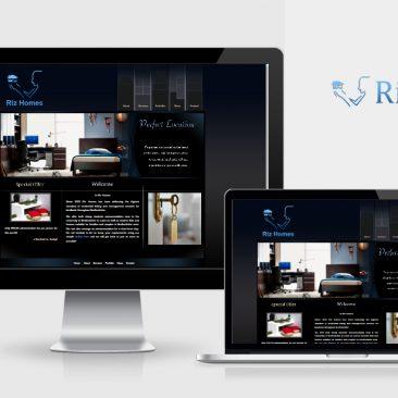 Riz Homes website