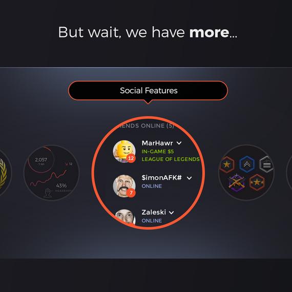 Gaming Platform Website Design