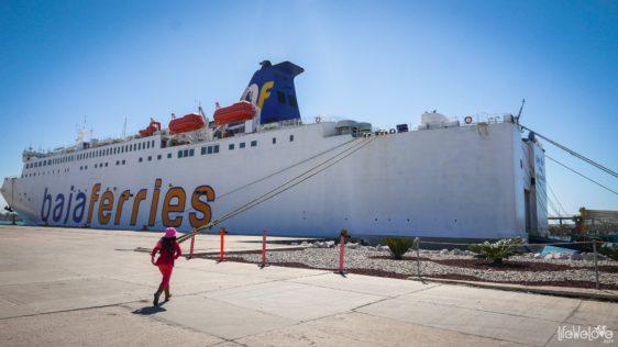 Safe route through Mexico: Baja Ferries from La Paz to Mazatlan