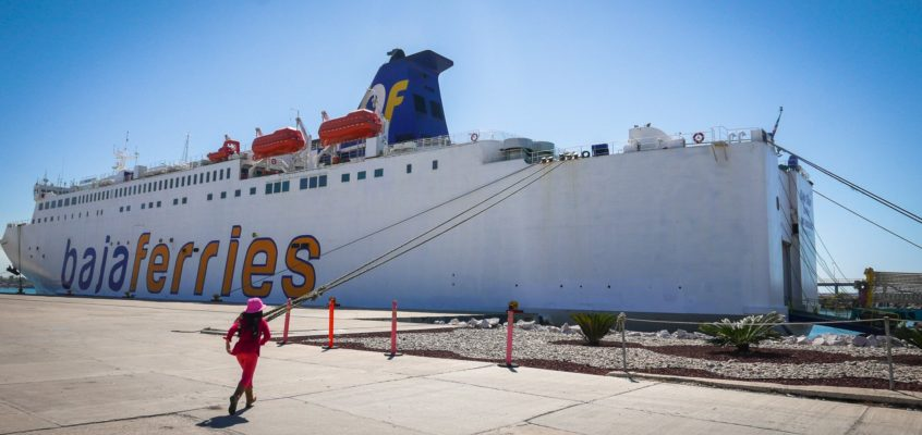 Safe route through Mexico: Baja Ferries from La Paz to Mazatlan