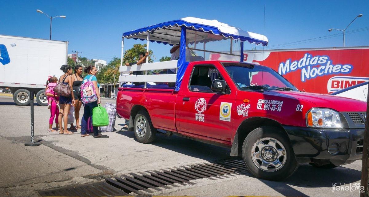 Taxi Mazatlan Mexico