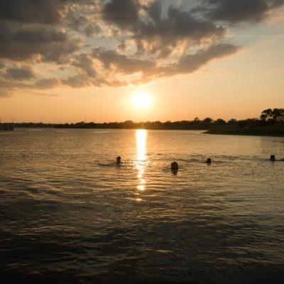 Jezioro w Teksasie