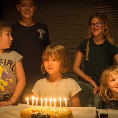 9 urodziny Christy
