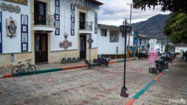 Guacamayas rynek miejski