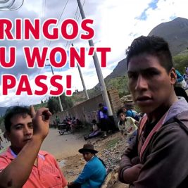 Gringos, you won't pass, our potatoes are too cheap! Farmers' strikes in Peru