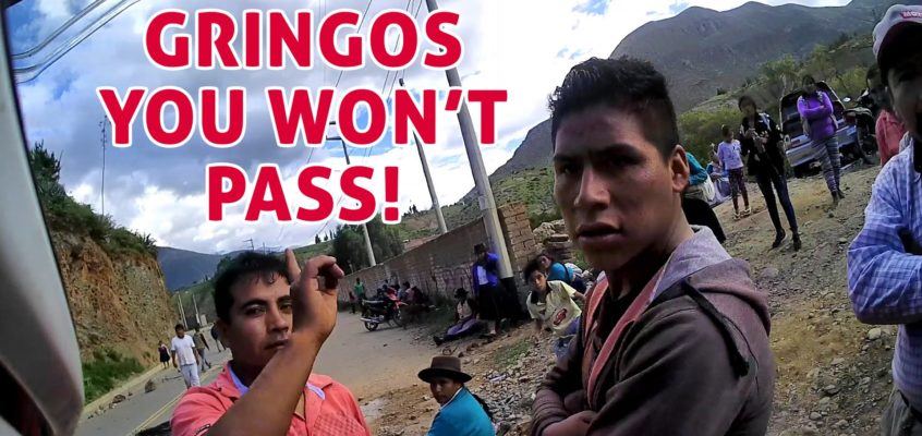 No pass for gringos. Farmers' strike in Peru