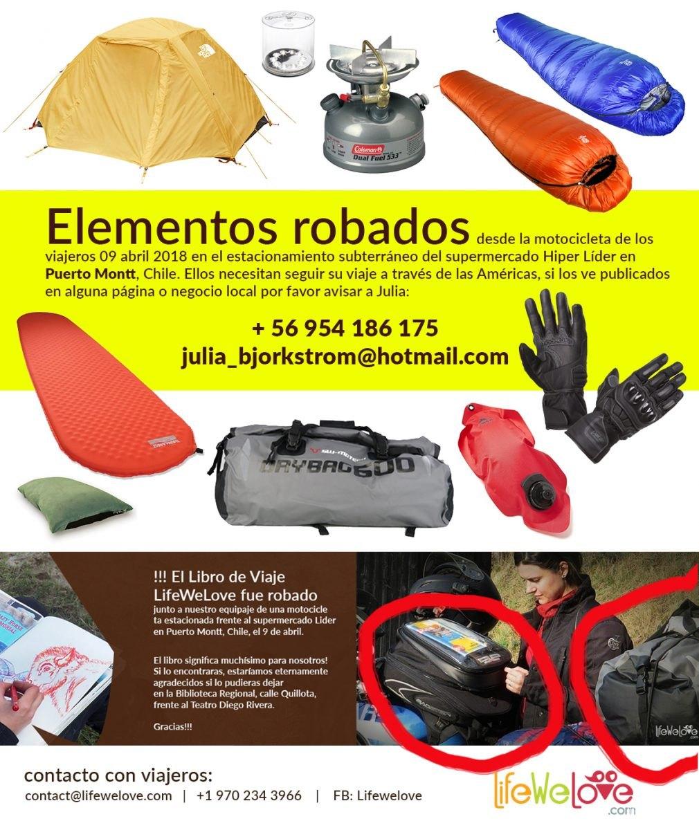 Elementos Rabados - Stolen Items