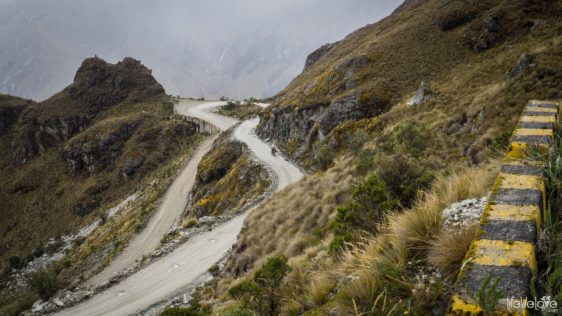 Portachuelo Llanganuco Pass in Peru