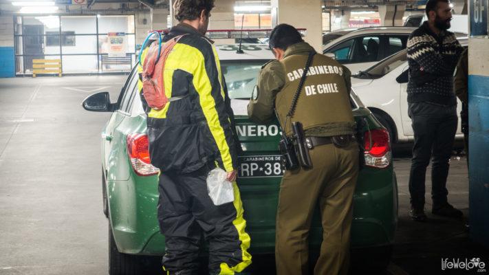 Carabineros Chile Stolen Baggage