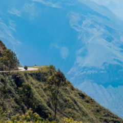 The road from Chachapoyas to Cajamarca – Northern Peru