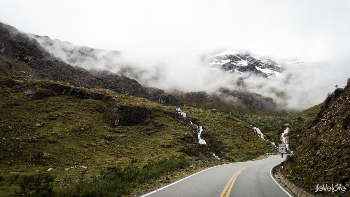 Przełęcz Punta Olimpica - Peru