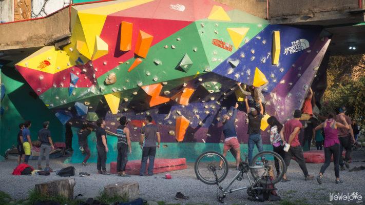 Santiago Climbing Wall