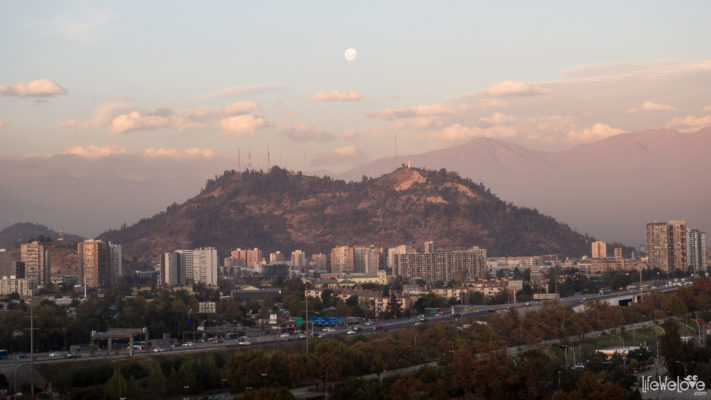 Santiago Sunset