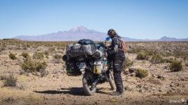 Boliwia - Krater po meteorycie