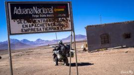 Border In Bolivia