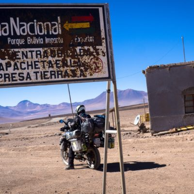 Border In Bolivia