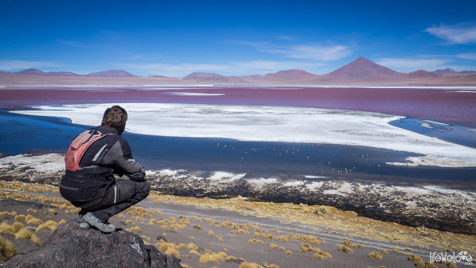 Laguna Colorada w Boliwii