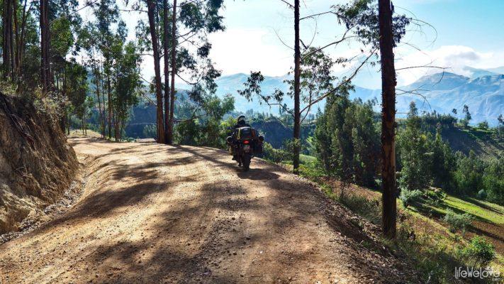 Peru Along Ruta N Mollemamba Mollepata