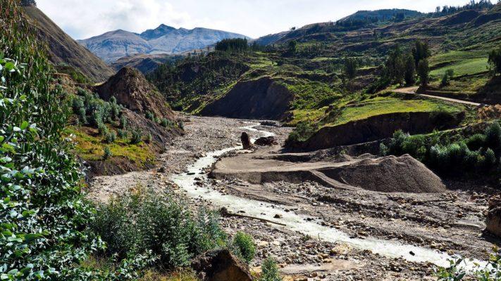 Along Runta 3N in Peru - Mollemamba