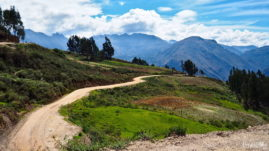 Trasy motocyklowe w Peru - Mollebamba