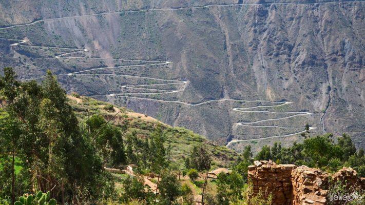 Peru Along Ruta 3N Mollepata -  Pallasca
