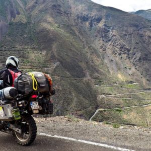 Motorcycle Routes in Peru