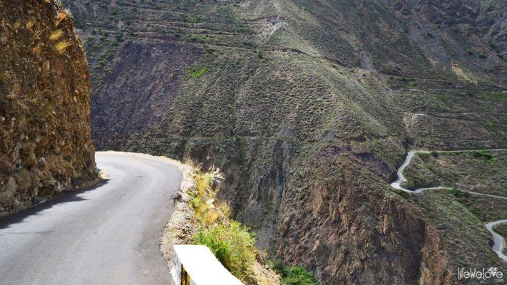 Peru Along Ruta N Mollepata Pallasca