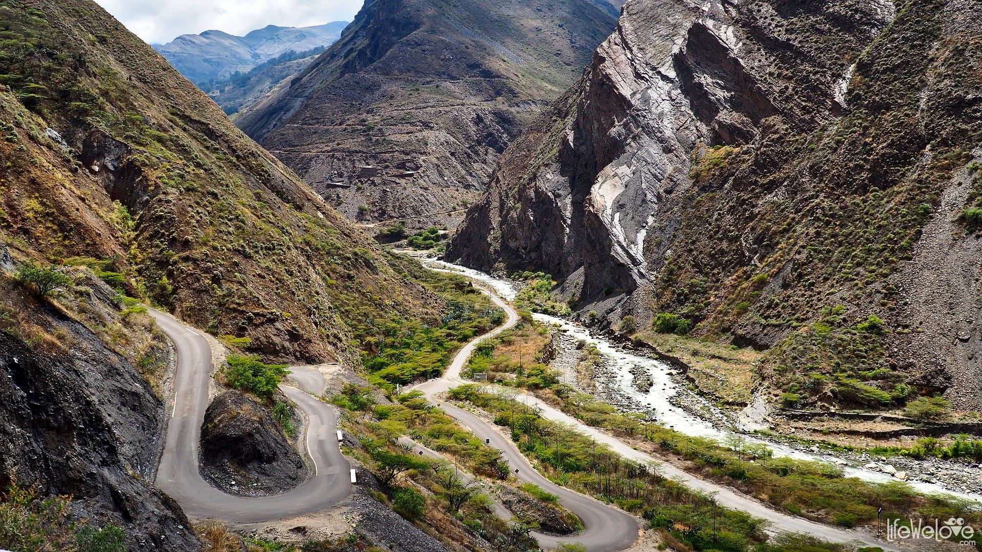 Trasy motocyklowe w Peru - Mollepata do Pallasca