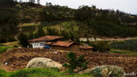 Along Ruta 3N in Peru - Santiago de Chugo