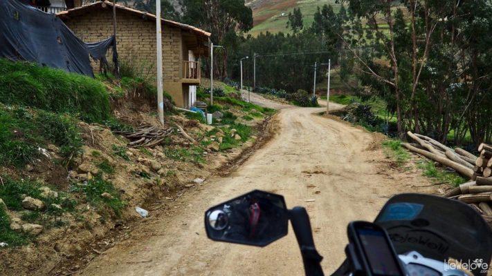 Trasy motocyklowe w Peru - Santiago de Chuco