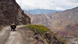 Peru Sacaycacha Pallasca Road