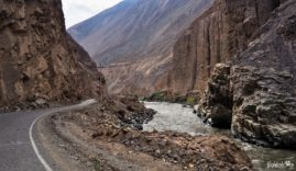 Canyon del Pato in Peru